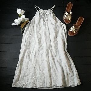 NWOT Anthropologie Shift dress 100% Linen